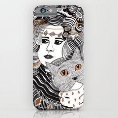 Capable Cat Slim Case iPhone 6s