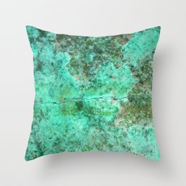 Moment of Epiphany: Emerald  Jewel Version Throw Pillow