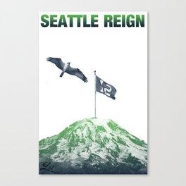 SEATTLE REIGN Canvas Print