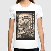 fairy tale T-shirts featuring Fairy tale by Paula Duta