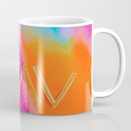 God Is Greater - Tie Dye Coffee Mug