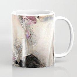 Giovanni Boldini - Portrait of Anna Elisabeth Hansen - Digital Remastered Edition Coffee Mug