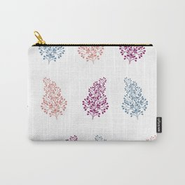 Botanical Leaf Carry-All Pouch