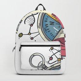 Wissenschaft die begeistert Backpack