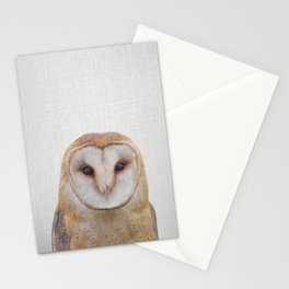 Owl - Colorful Stationery Cards