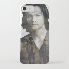 Sam Winchester Fan Art iPhone Case