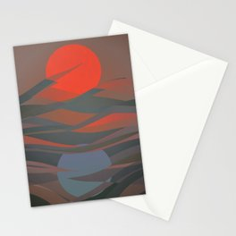 Active Passive Stationery Cards