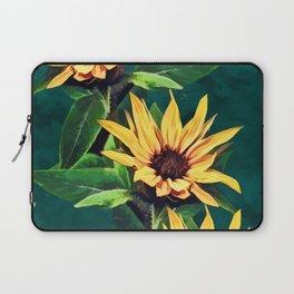 Watercolor sunflowers Laptop Sleeve