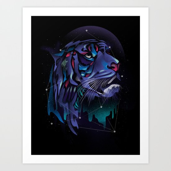 Growling No More Art Print