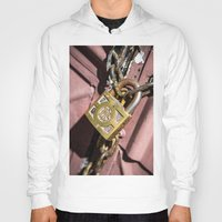 doors Hoodies featuring Chained doors by davehare