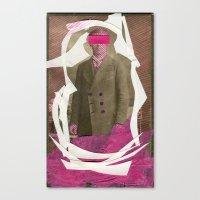 acid Canvas Prints featuring Acid by Naomi Vona