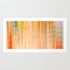 Abstract Linear Architecture Art Print