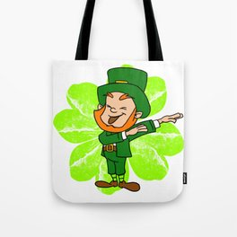 Dabbing Leprechaun St Patricks Day Gold Pot Tote Bag