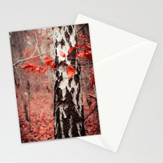red forest Stationery Cards