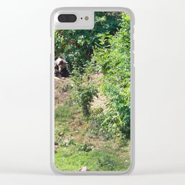 Furry Kindred Spirits Clear iPhone Case