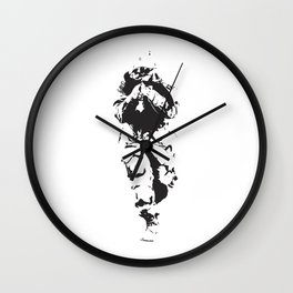 Soldier Stencil Wall Clock