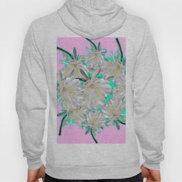 NIGHT BLOOMING TROPICAL CEREUS CACTI ART Hoody