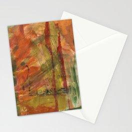 Burned Orange Stationery Cards