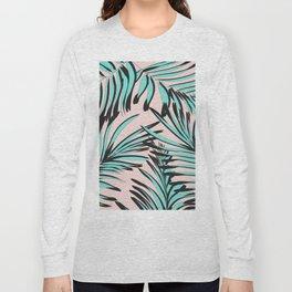 Tropical print Long Sleeve T-shirt