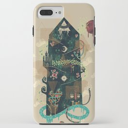 The Ominous and Ghastly Mont Noir iPhone Case