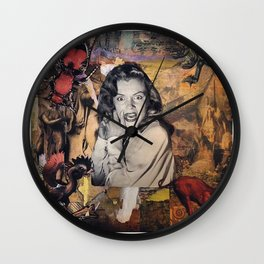 The Stuff Nightmares Are Made Of Wall Clock
