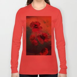 Poppies Long Sleeve T-shirt