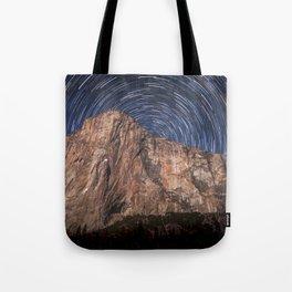 El Capitan Startrail 9-16-18 Tote Bag