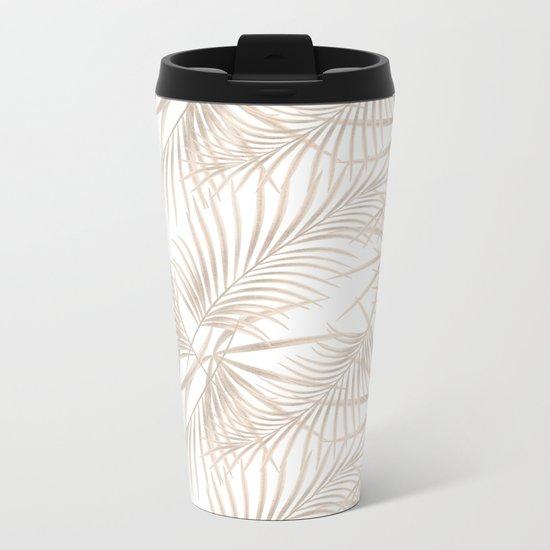 Palm leaves 4 Metal Travel Mug