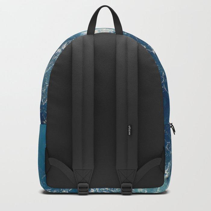 Sea splashes Backpack
