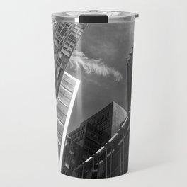 Glass Business Window Building Abstract London Travel Mug