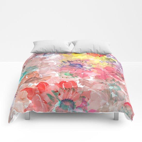 Flower carpet(32). Comforters