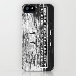 Fear of Perception iPhone Case