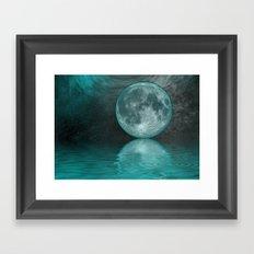 MOON FANTASY Framed Art Print