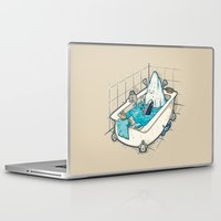 bath Laptop & iPad Skins featuring BATH TIME by Letter_q