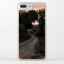 The Hollow At Twilight Clear iPhone Case