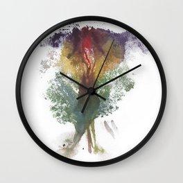 Devon's Vulva Print No.3 Wall Clock