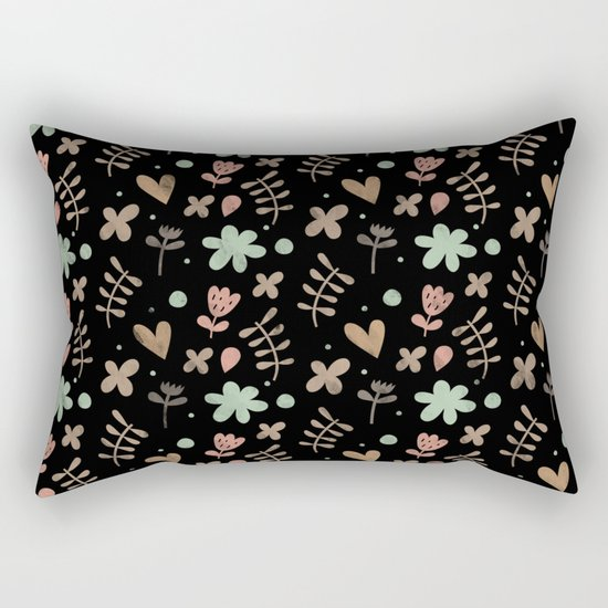 Colorful Lovely Pattern III Rectangular Pillow