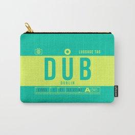 Luggage Tag B - DUB Dublin Ireland Carry-All Pouch