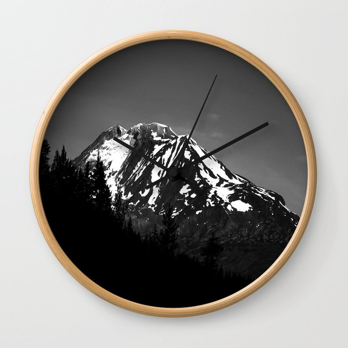 Desolation Mountain Wall Clock