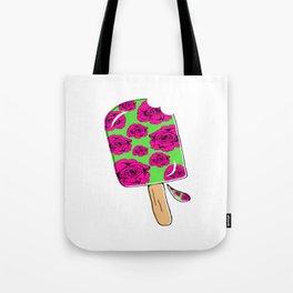 Rose Popsicle Tote Bag