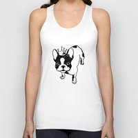 french bulldog Tank Tops featuring French bulldog by Pendientera