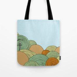 Hills Tote Bag