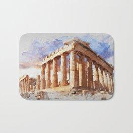 Acropolis Of Athens Bath Mat