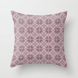 Seamless tile pattern Throw Pillow