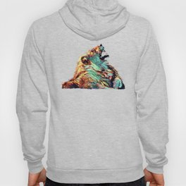 Leon And The Little Girl   Lion - Painting  Hoody