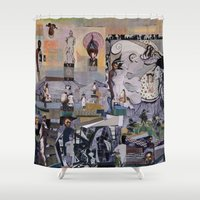 theater Shower Curtains featuring Theater by NouriHeba