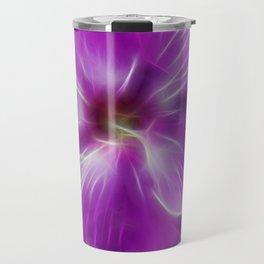 Abstract Phlox Travel Mug