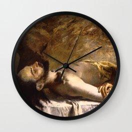 "Koloman (Kolo) Moser ""Pieta"" Wall Clock"