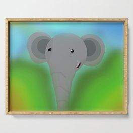 Elbert the Elephant Serving Tray