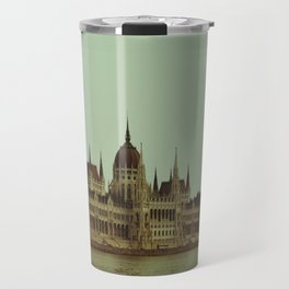 A hot day in Budapest Travel Mug